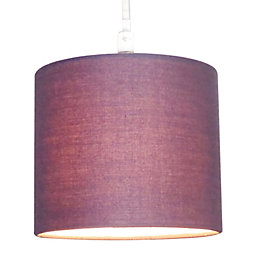 Colours Briony Blueberry Light Shade (D)15cm