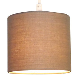 Colours Briony Pepper Light Shade (D)15cm
