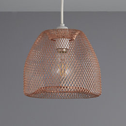 Colours Gatun Copper Wire Light Shade (D)20.5cm