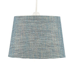 Colours Sadler Mini Blue Metallic Light Shade (D)21cm