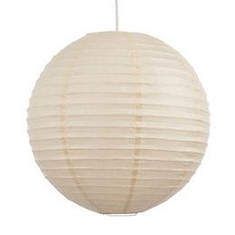 Colours Abiola Apricot Ball Light Shade (D)40cm