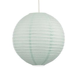 Colours Abiola Duck Egg Ball Light Shade (D)40cm
