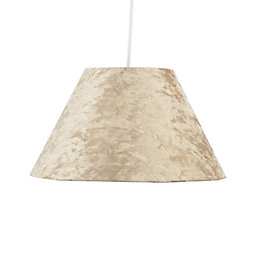 Colours Clain Natural Velvet Light Shade (D)31cm