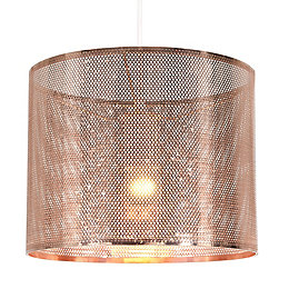 Colours Bilina Copper Cutout Light Shade (D)25cm