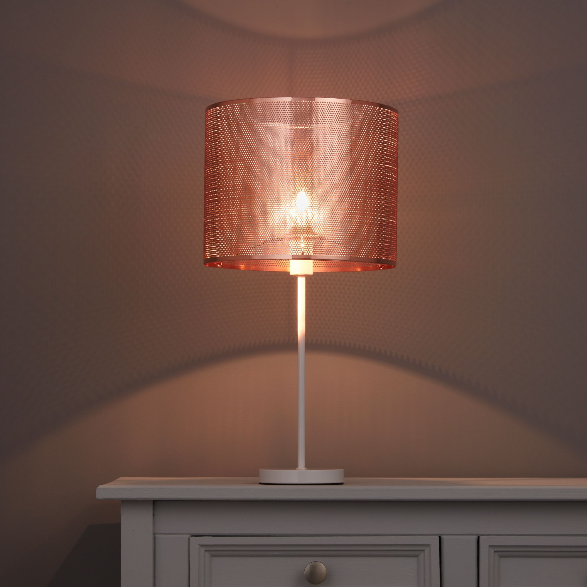 Colours Bilina Copper Cutout Light Shade (d)250mm