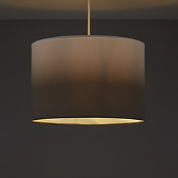 Colours Correze Anthracite Gradient Light Shade (D)300mm