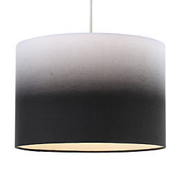 Colours Correze Black Gradient Light Shade (D)30cm