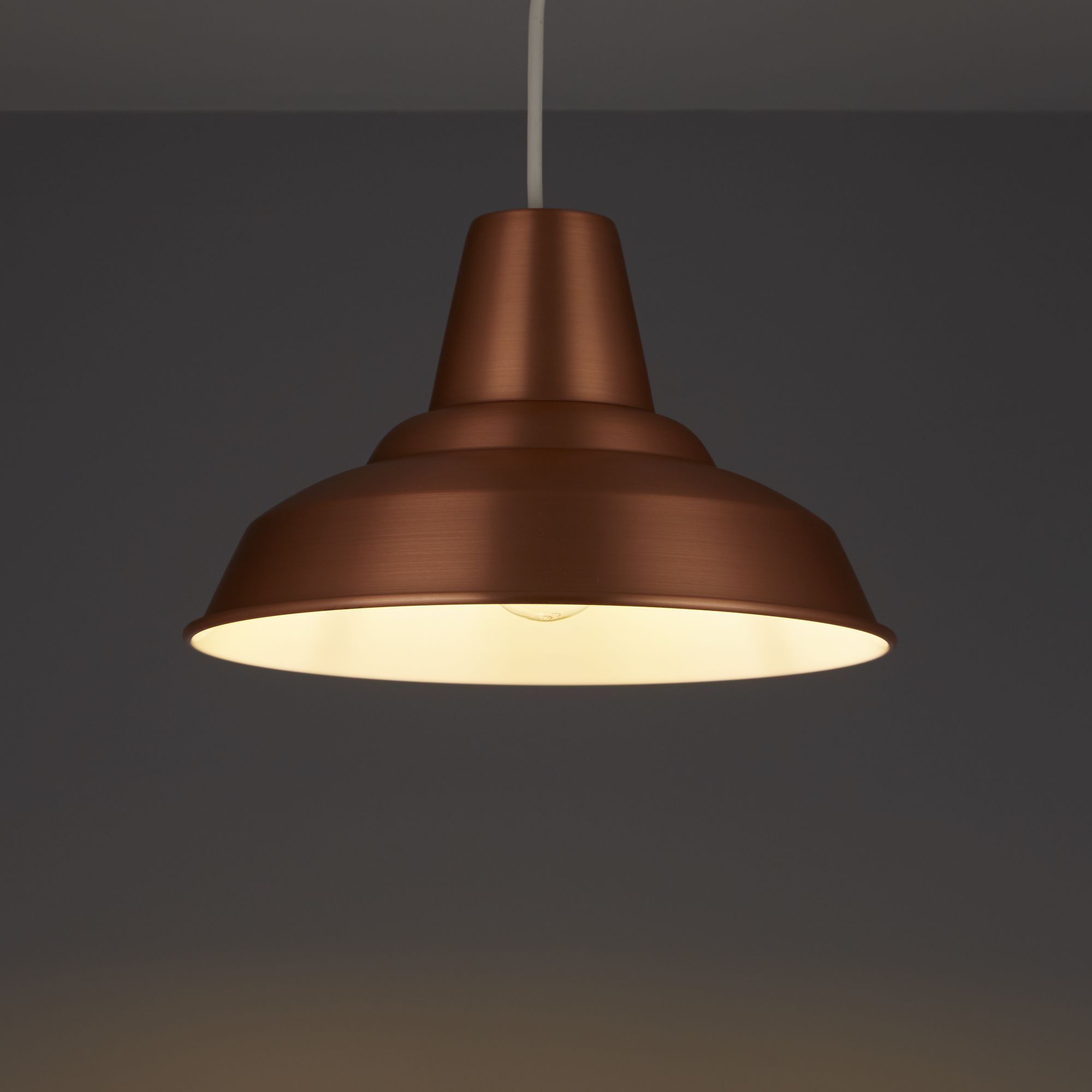 Colours Tezz Copper Light Shade (d)290mm
