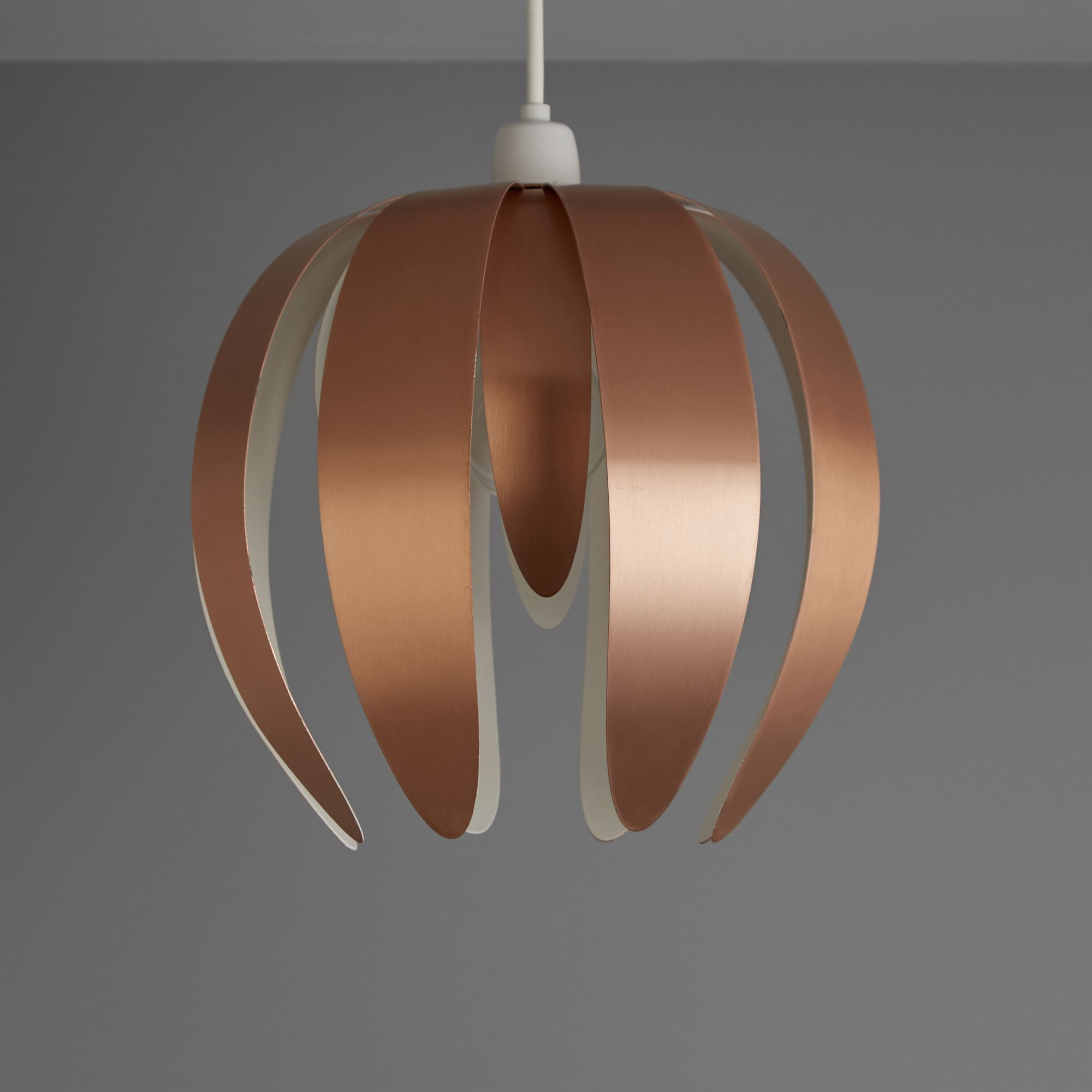 Colours Canna Copper Light Shade (d)270mm