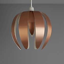 Colours Canna Copper Light Shade (D)27cm