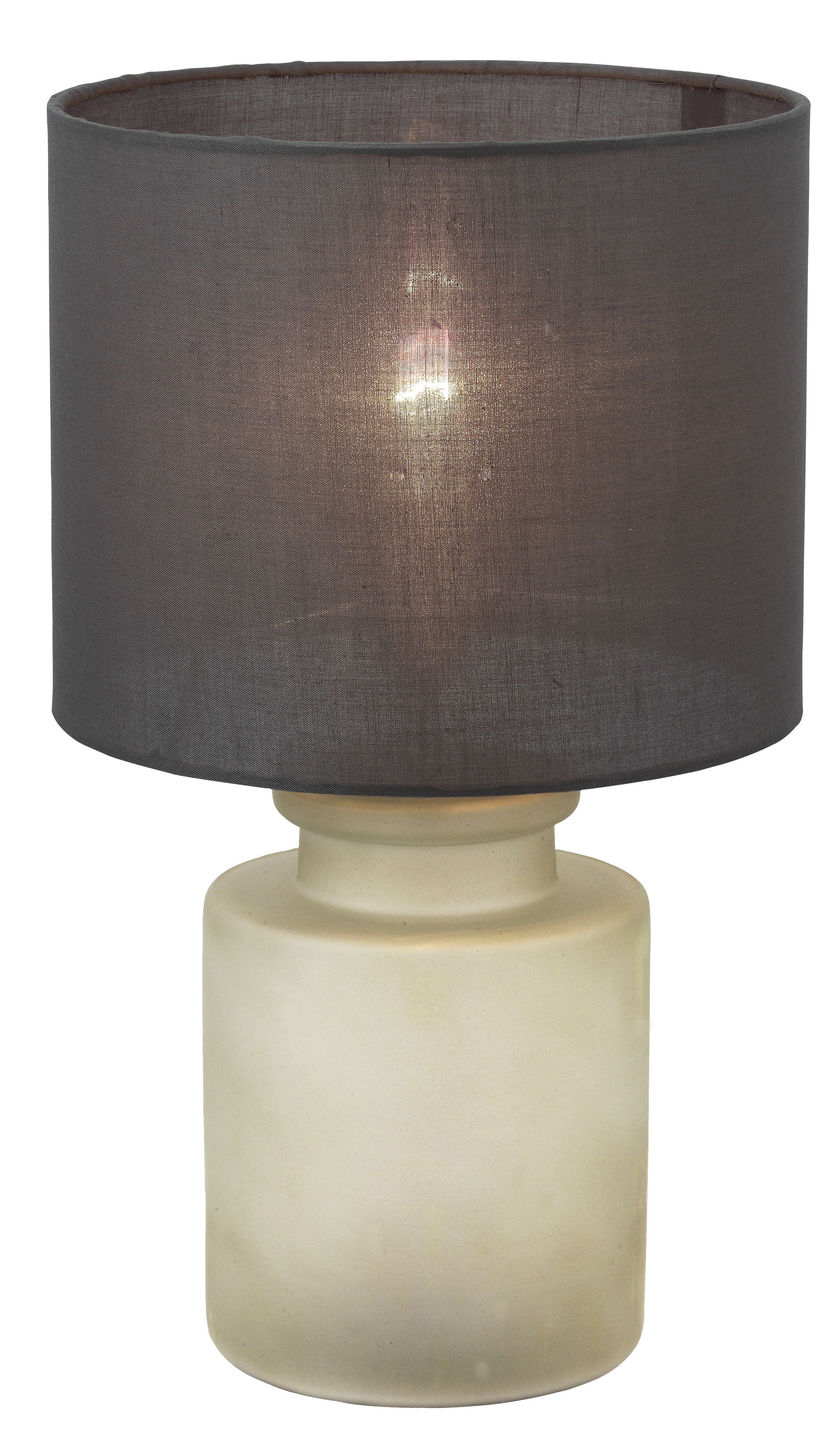 Aitkin Cool Grey Table Lamp