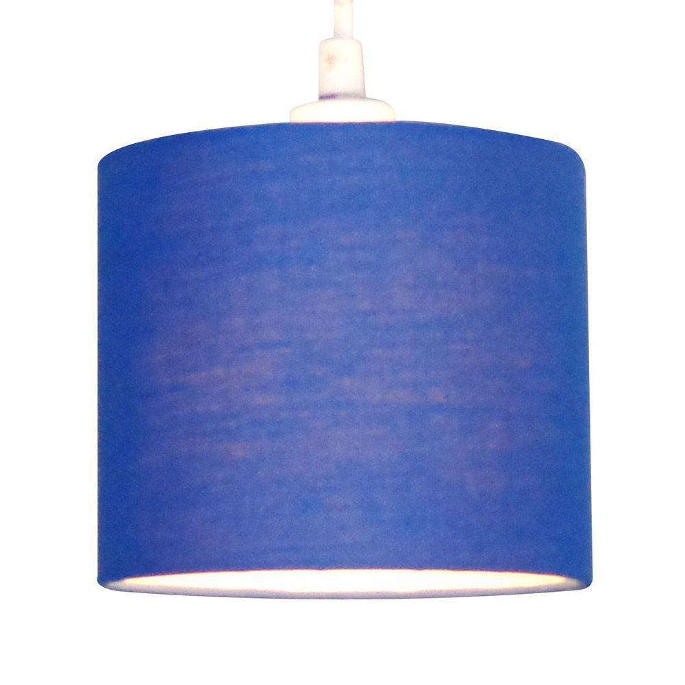 Diy at bq colours briony navy blue light shade d150mm aloadofball Image collections