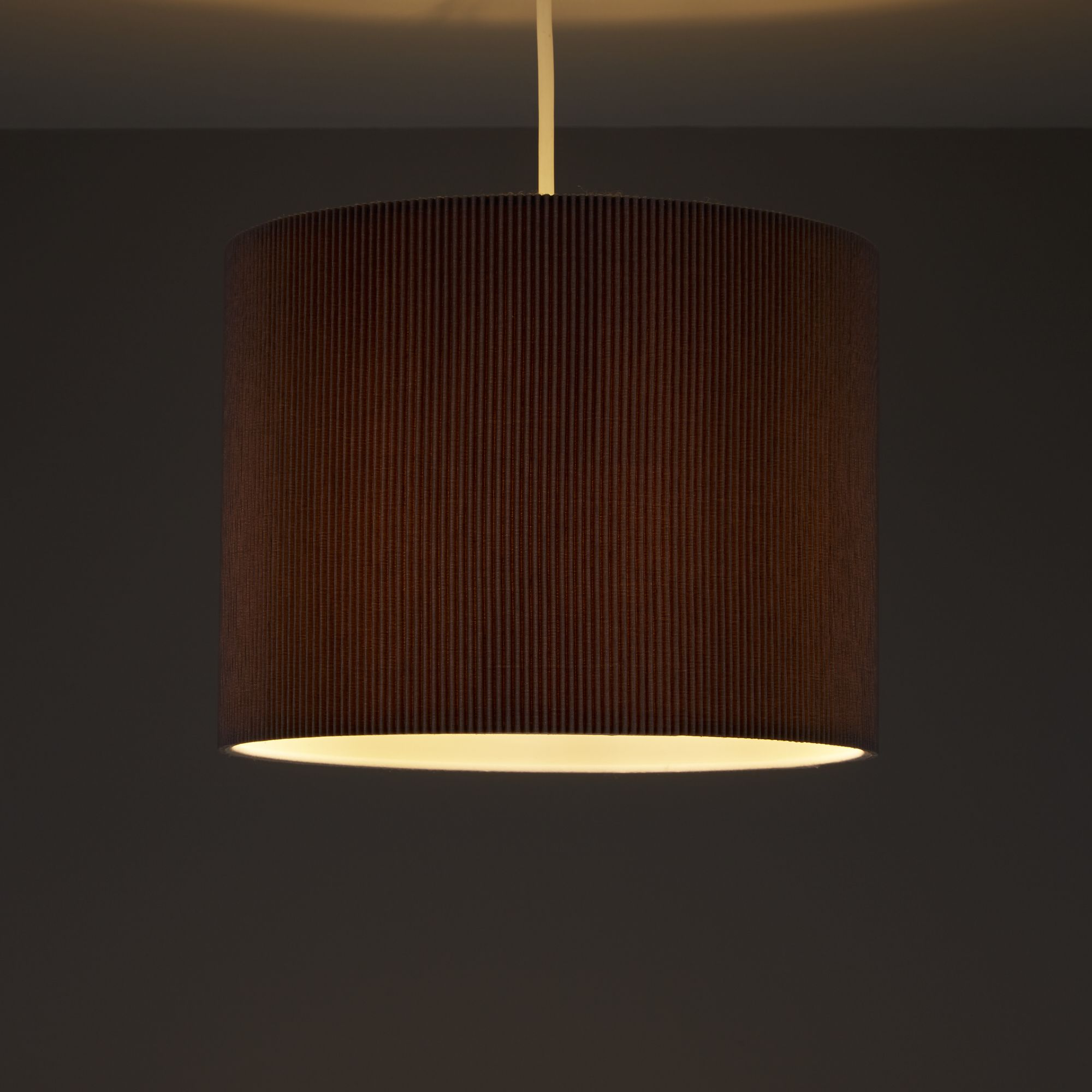 Colours Zadeh Stone Micropleat Light Shade (d)260mm