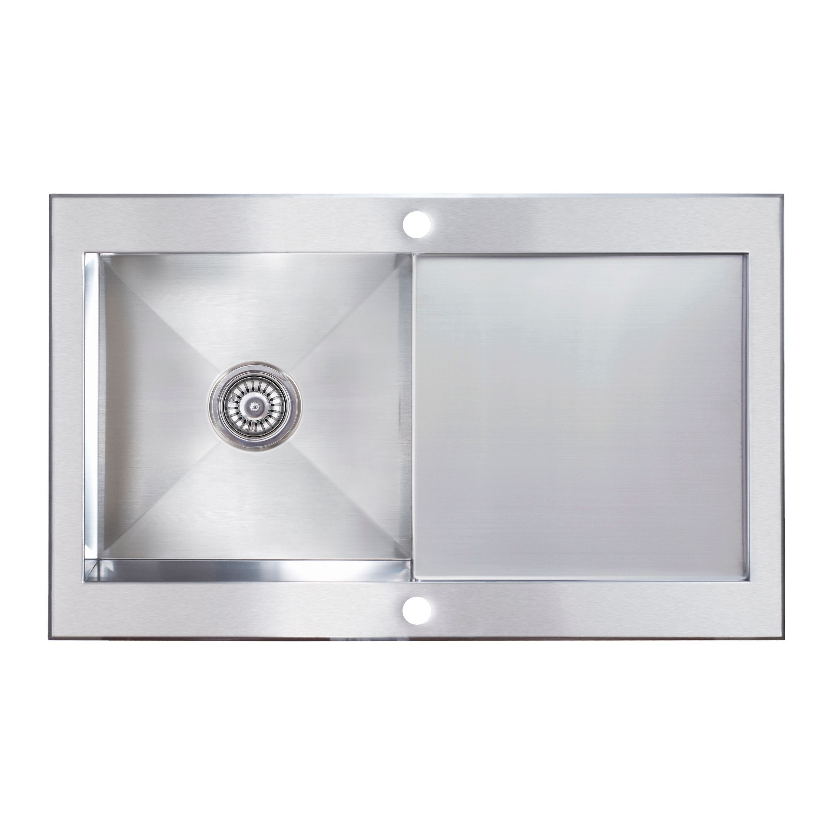 Cooke Lewis Unik 1 Bowl Satin Stainless Steel Sink With Cooke And ...
