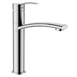Cooke & Lewis Crissey Chrome Effect Lever Tap