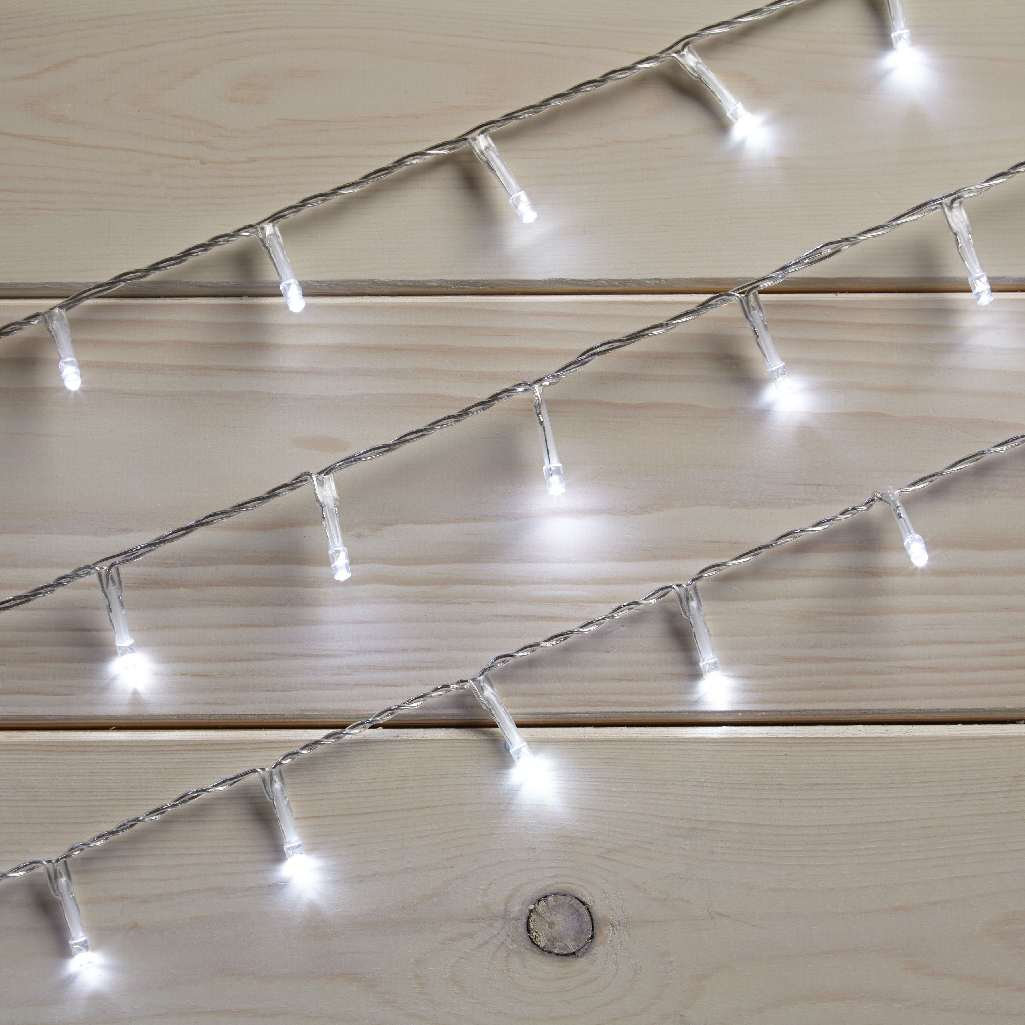 Led String Lights Diy : 40 White LED String Lights Departments DIY at B&Q