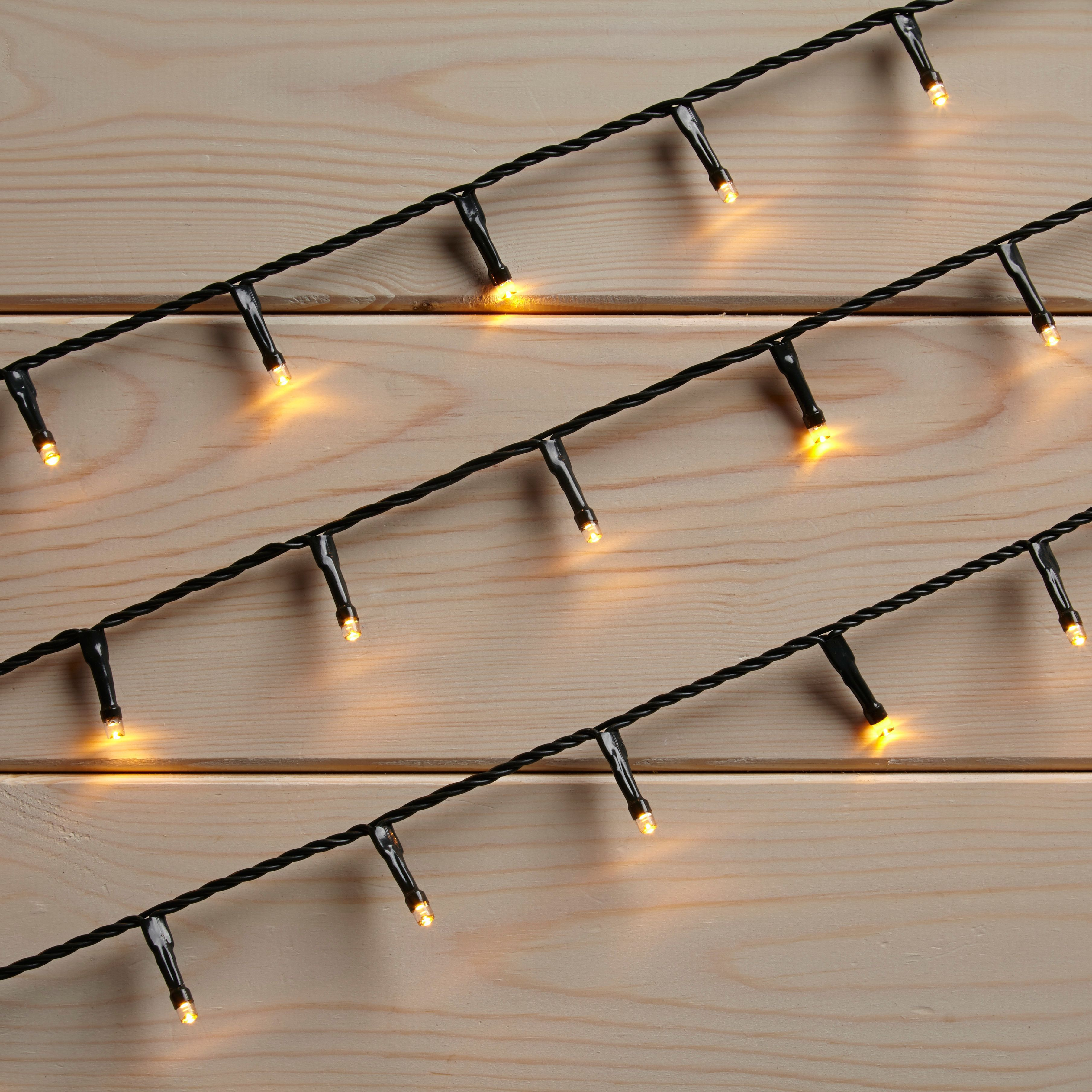 Led String Lights Diy : 120 Soft Glow LED String Lights Departments DIY at B&Q