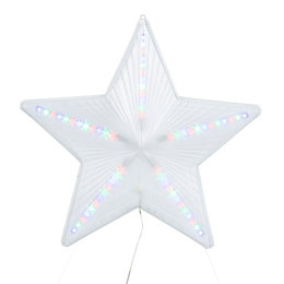 LED Multicolour Chasing Star Silhouette