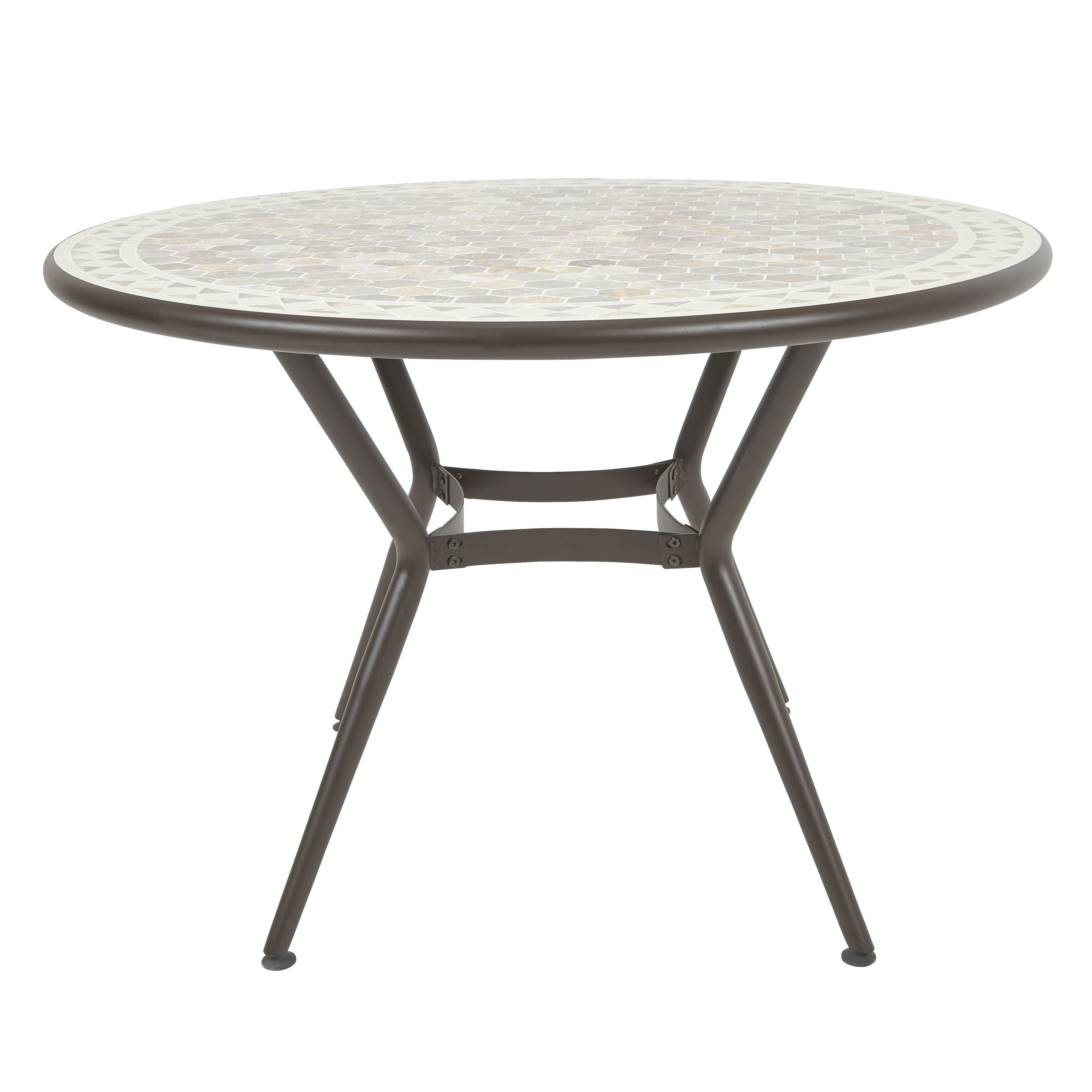 Sofia Metal Dining Table Departments