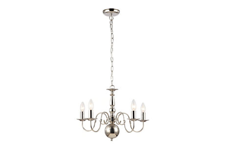 Manning Nickel Chandelier