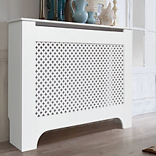 Image of Richmond radiator cover medium white