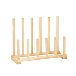 Natural Pine Welly Rack (W)620mm