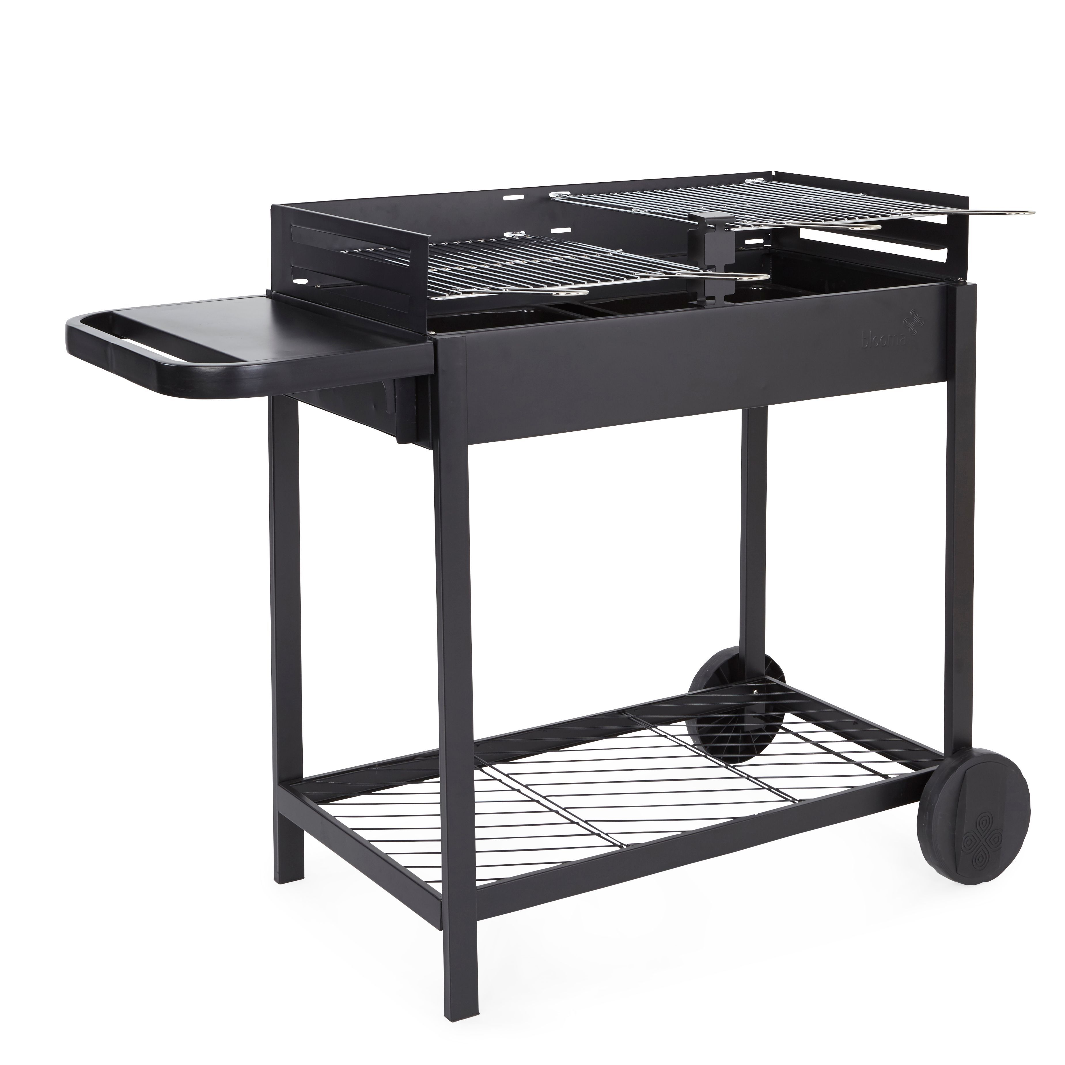 blooma zelfo charcoal barbecue departments diy at b q. Black Bedroom Furniture Sets. Home Design Ideas