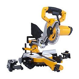 JCB 1400W 240V 210mm Sliding Compound Mitre Saw