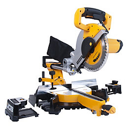 JCB 1600W 255mm Sliding Compound Mitre Saw SCMS255