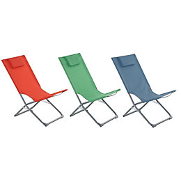 Curacao Metal Beach Chair