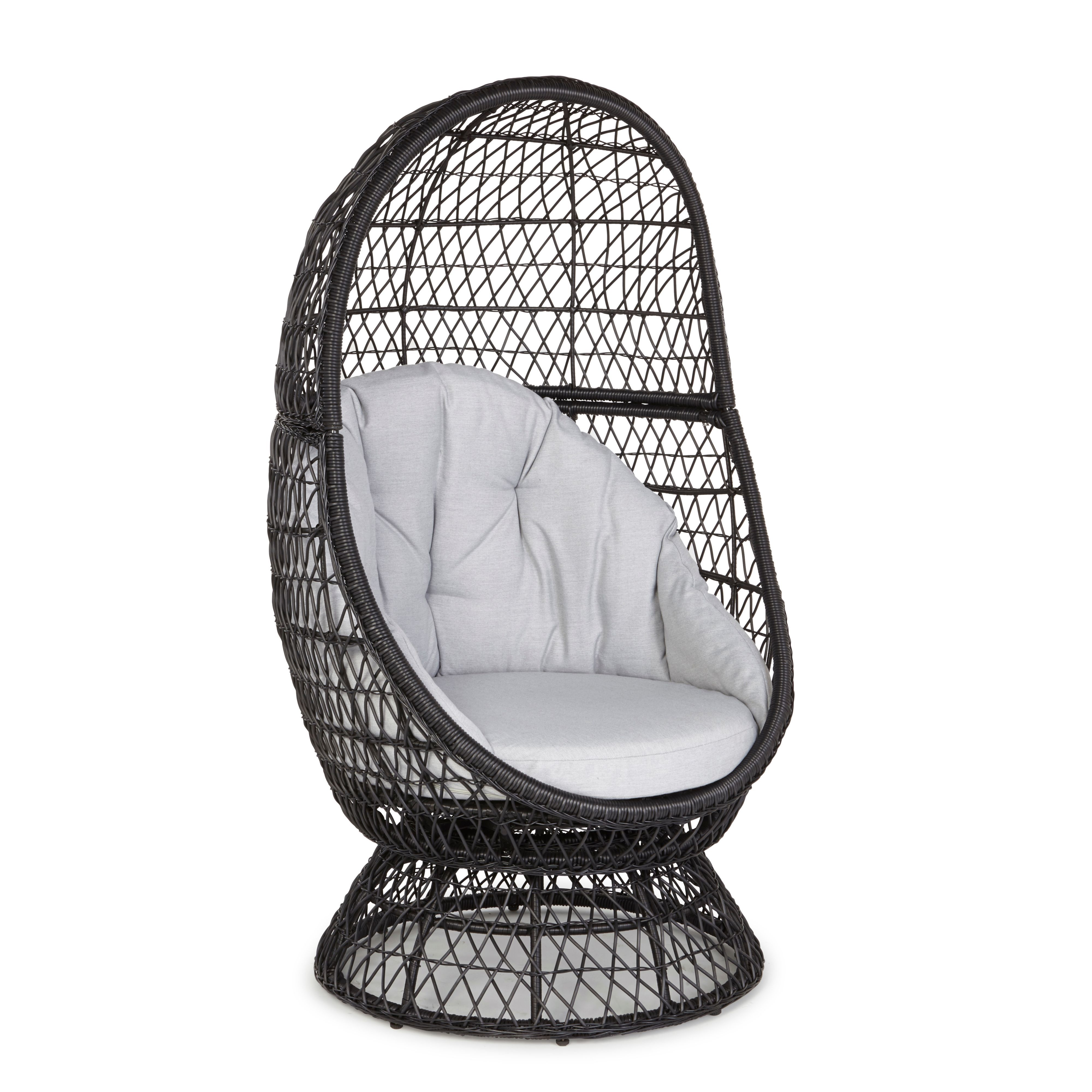 anya egg chair ii departments diy at b q. Black Bedroom Furniture Sets. Home Design Ideas
