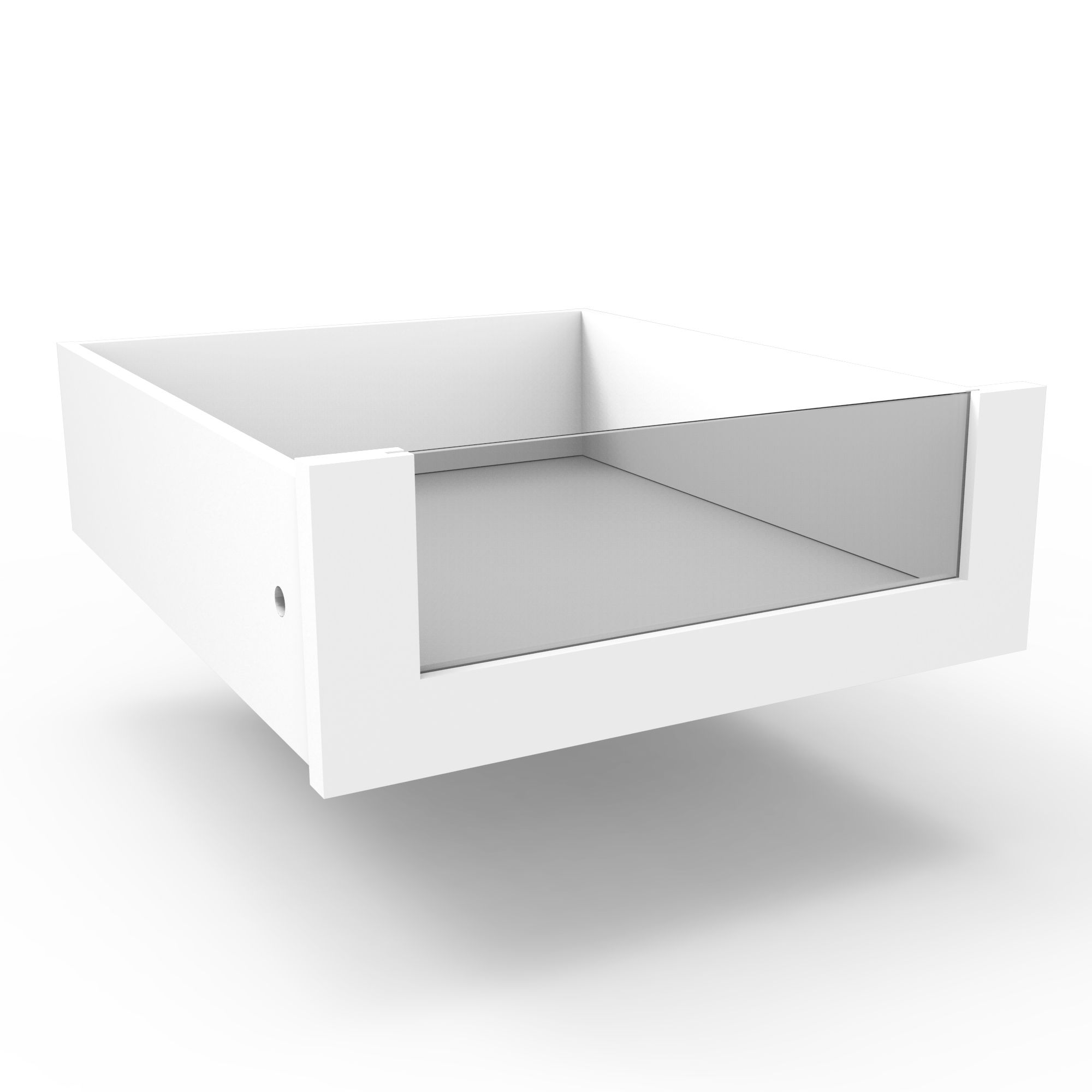 Darwin Modular White Internal Drawer (h)158mm (w)440mm (d)533mm