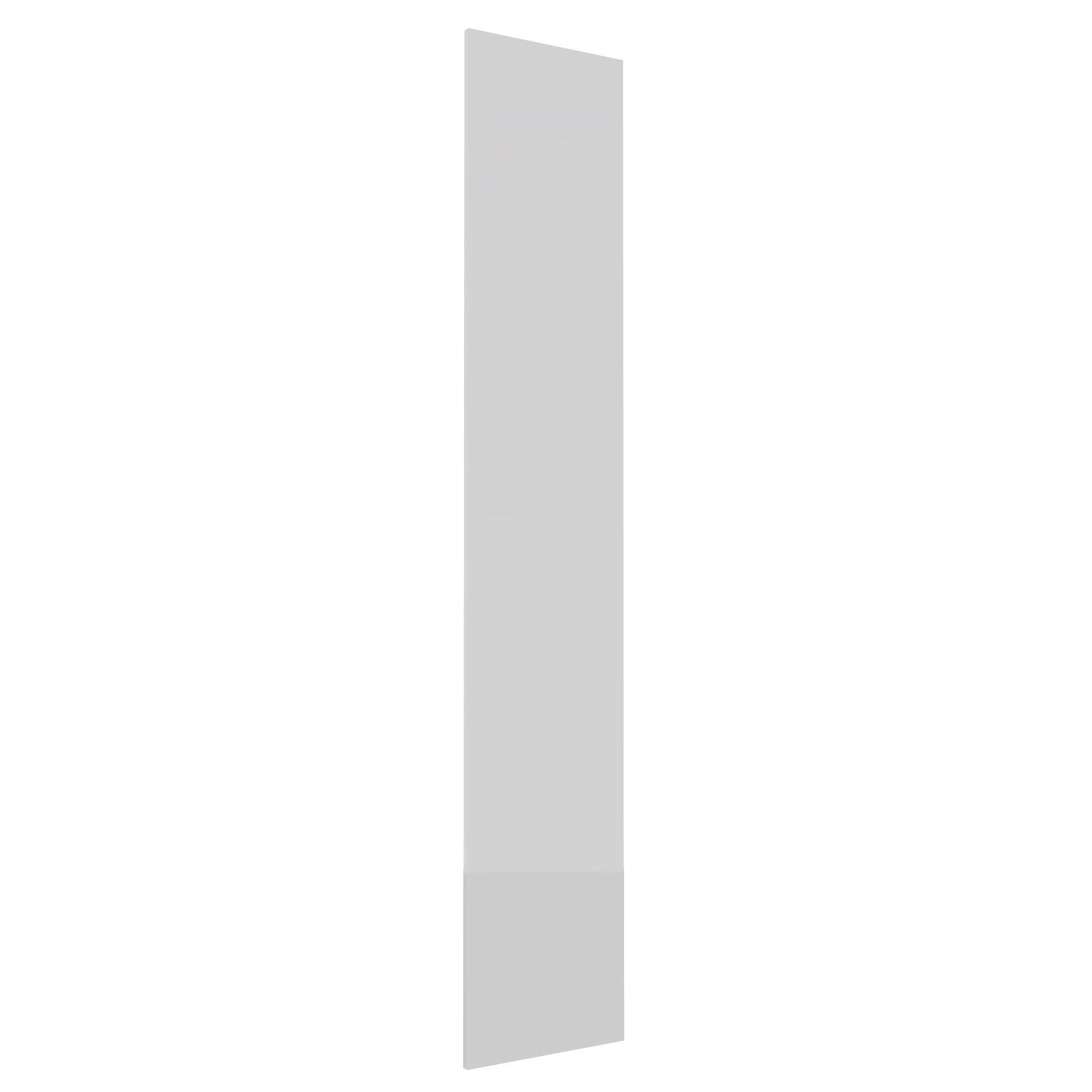 Darwin Modular White & Gloss Tall Wardrobe Door (h)2288mm (w)372mm (d)16mm
