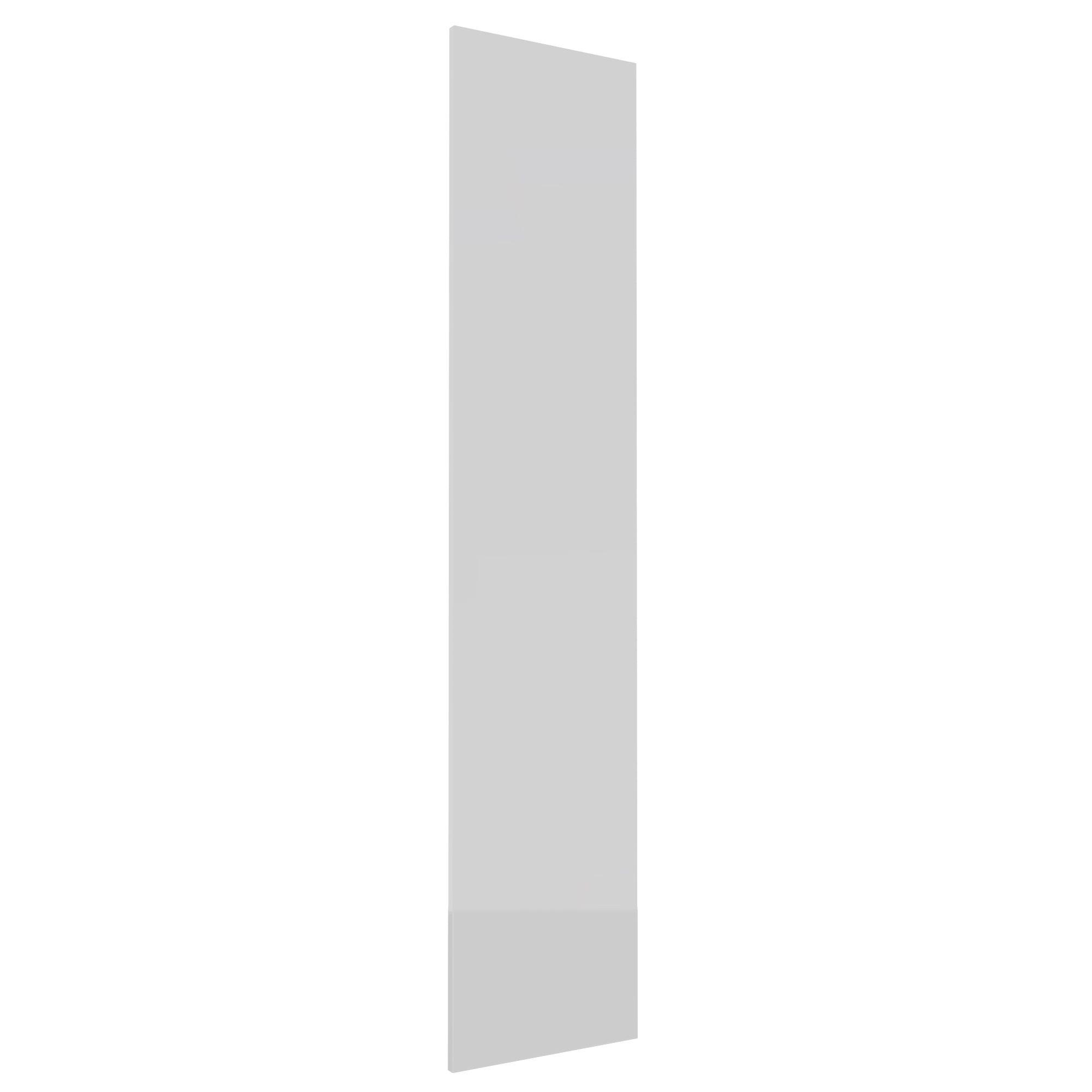 Darwin Modular White & Gloss Wardrobe Door (h)1936mm (w)372mm (d)16mm