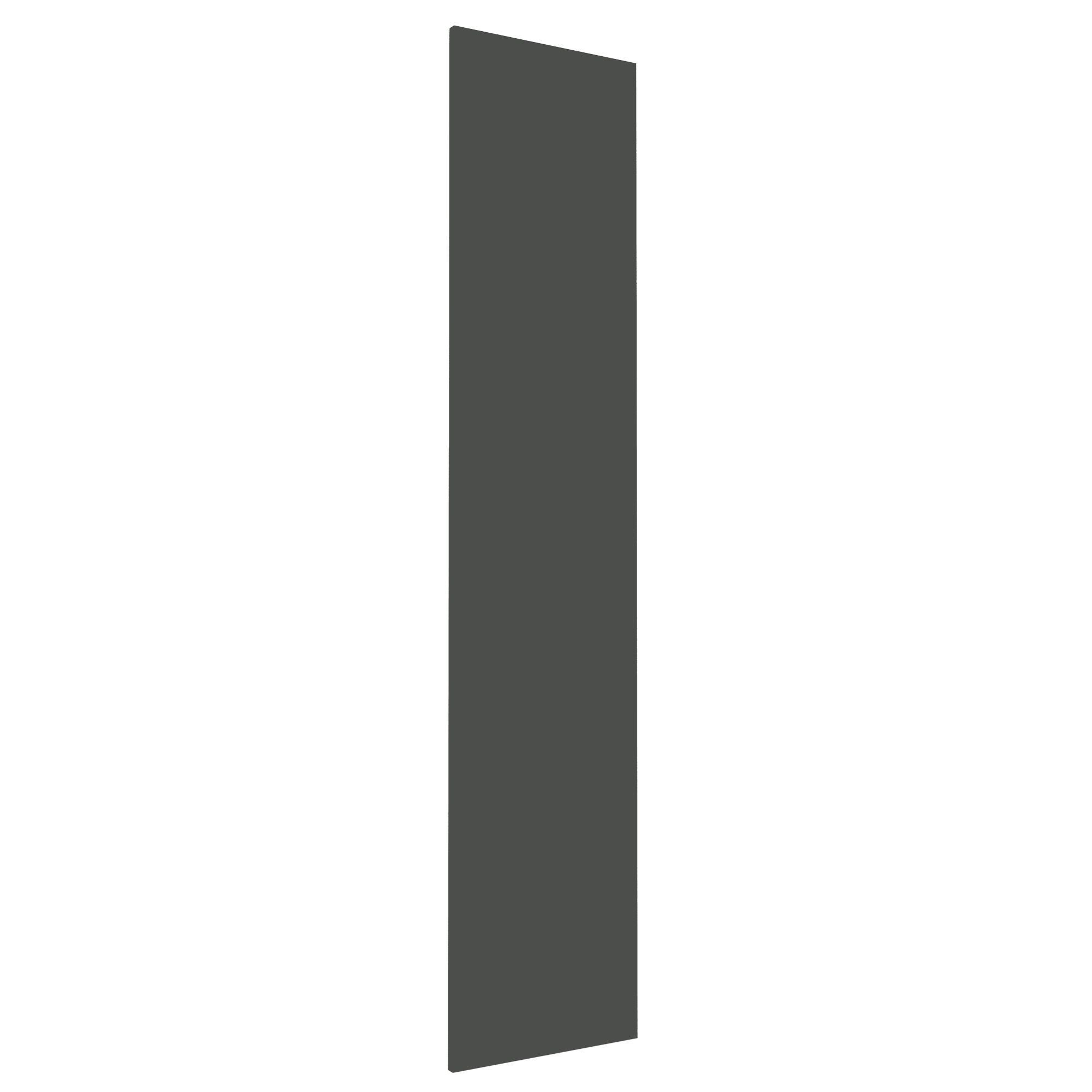 Darwin Modular Anthracite & Gloss Wardrobe Door (h)1936mm (w)372mm (d)16mm
