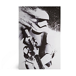 Star Wars Stormtrooper White Canvas Art (W)60cm (H)90cm
