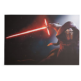 Star Wars Kylo Ren Lightsaber Multicolour Canvas Art