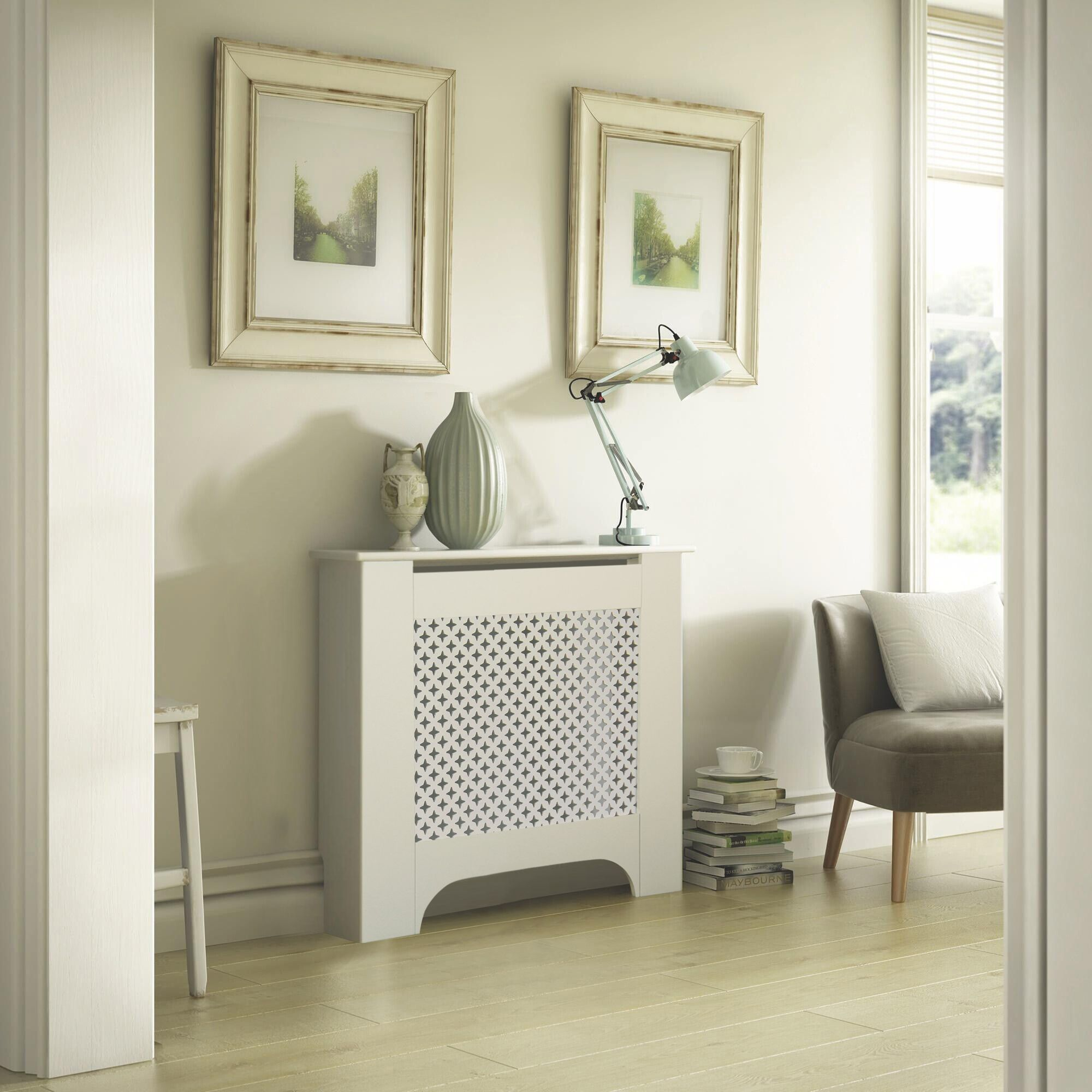Richmond Mini White Painted Radiator Cover Departments