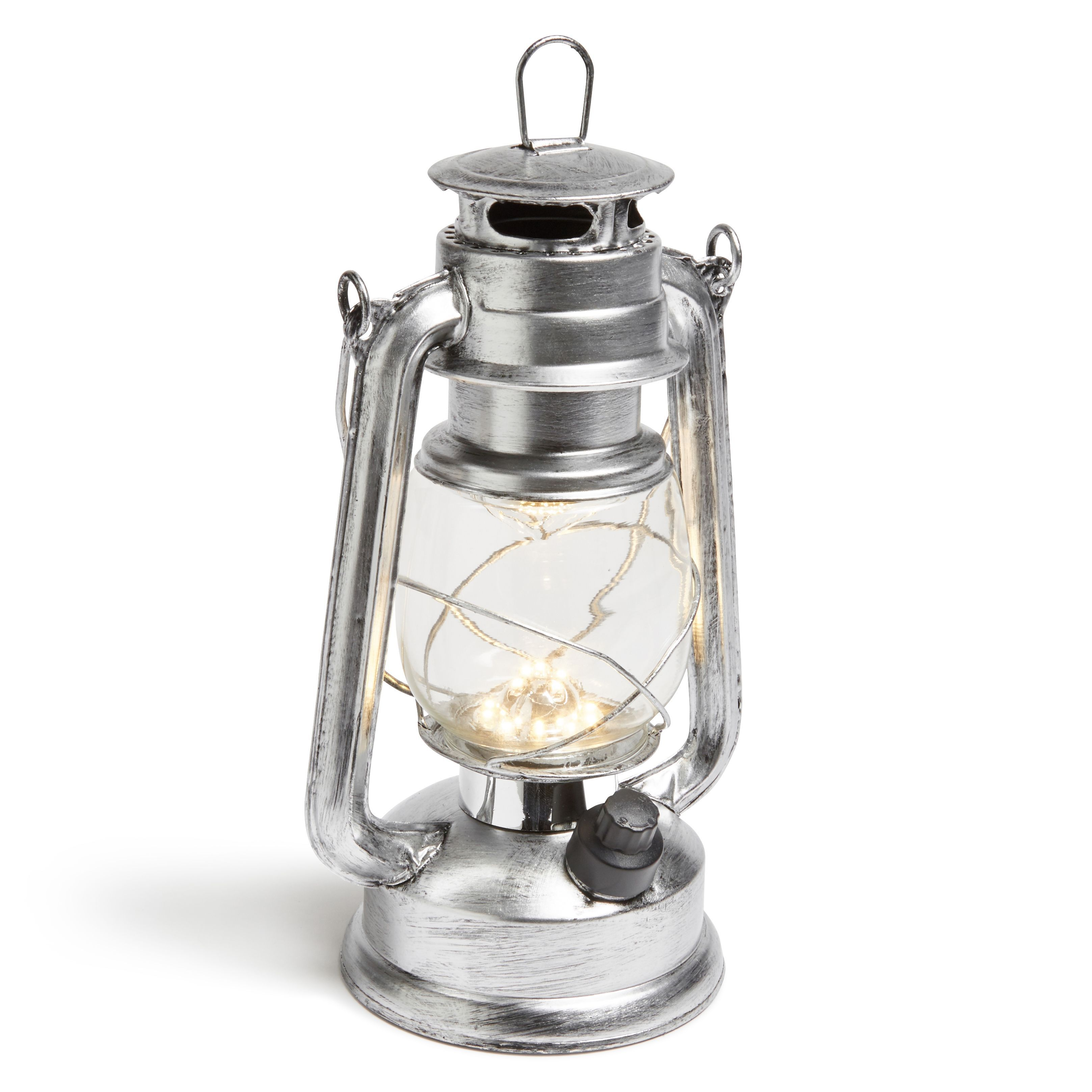 Blooma Magnes Silver External LED Storm Lantern