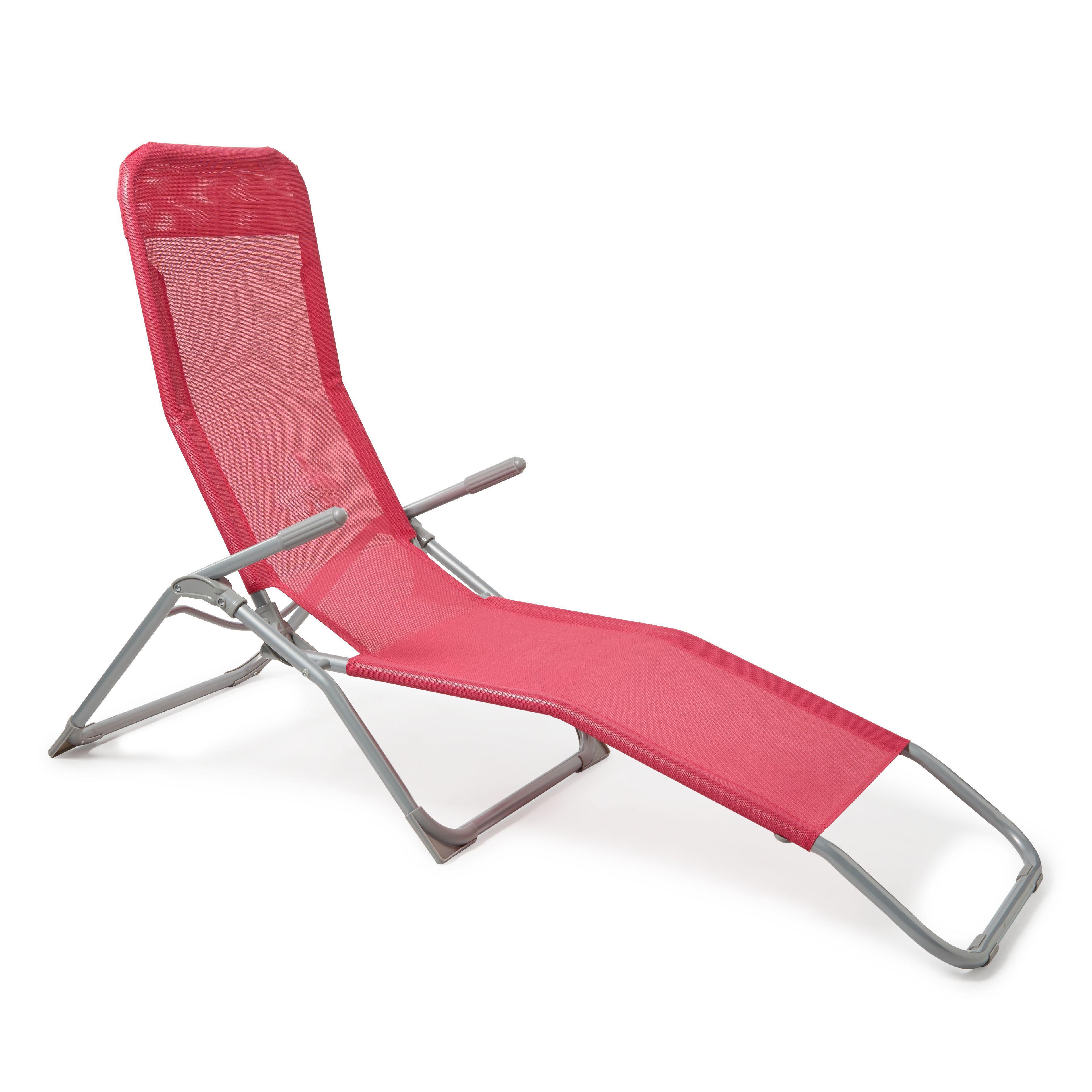 Punta Pink Metal Rocker Chair Departments
