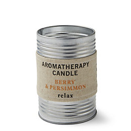 Hessian Aromatherapy Berry & Persimmon Tin Candle