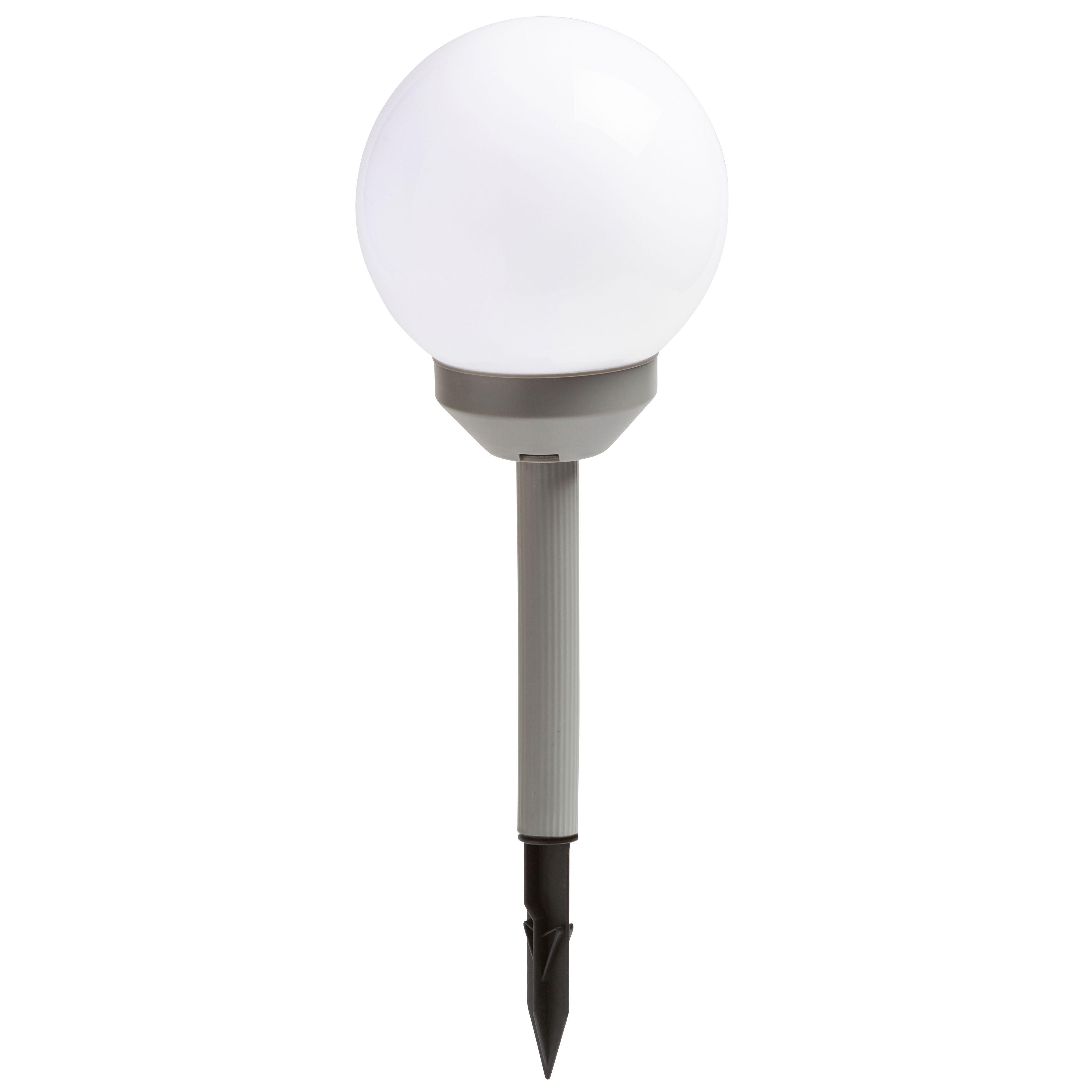 Solar Lights B Q: Blooma Nessus 2-In-1 Solar Powered LED Globe Light