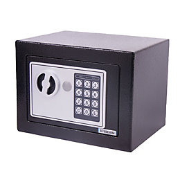 4.5L Digital Code & Key Small Black Electronic