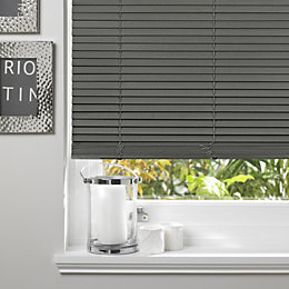 Colours Marco Grey Venetian Blind (W)90cm (L)160cm