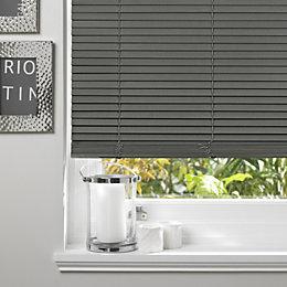 Colours Marco Grey Venetian Blind (W)90cm (L)160cm