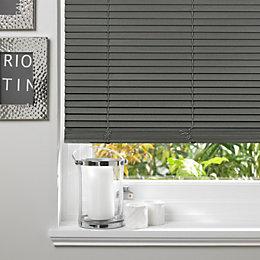 Colours Marco Grey Venetian Blind (W)120cm (L)160cm