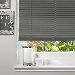 Colours Marco Grey Venetian Blind (W)180cm (L)160cm