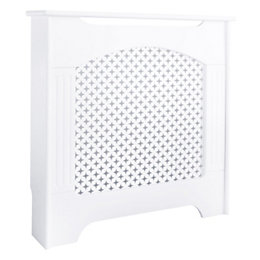 Cambridge Mini White Painted Radiator Cover