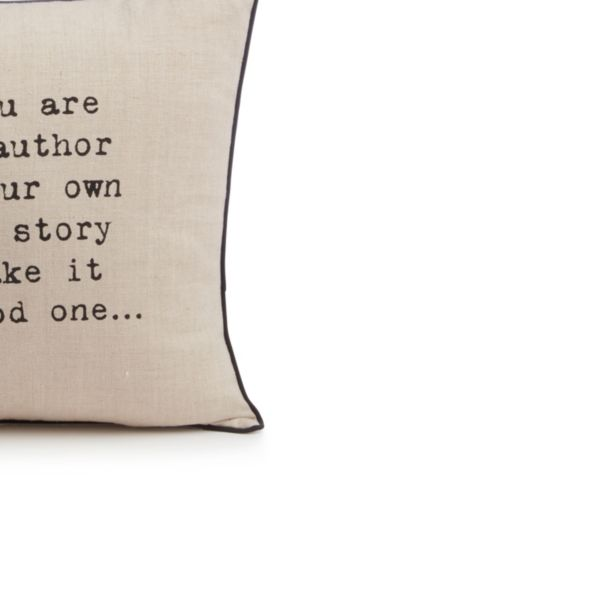 Typography Cushions