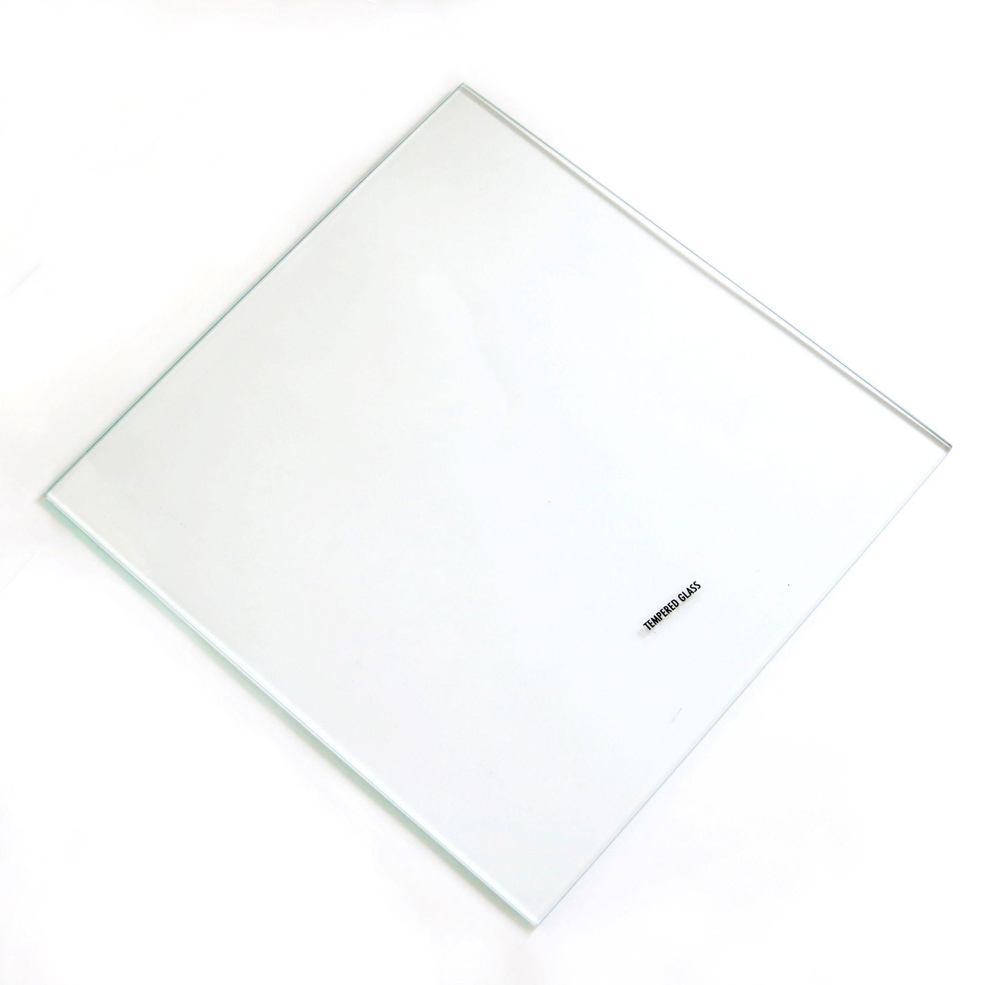 Clear Internal Glass Kitchen Cabinet Shelves (l)258mm (d)247mm, Pack Of 2